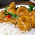 Crockpot: Pittige curry met kip