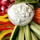 Skinny Griekse yoghurt dip