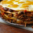 Mexicaanse wrap lasagne