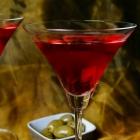 Feestelijke cranberry cocktail