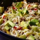 Mexicaanse rijstschotel