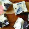Fudge met witte chocolade en Oreos