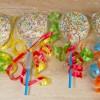 Lollies van Oreo's met witte chocolade