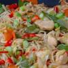 Mihoen met kip en lekker veel groenten