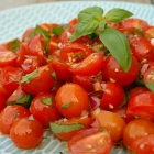 Snelle cherry tomatensalade