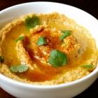 Hummus met zoete aardappel