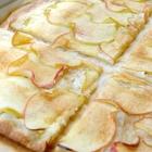 Flammkuchen met appel
