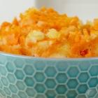 Twee-kleuren aardappelpuree