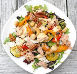 Salade met gegrilde goenten 4