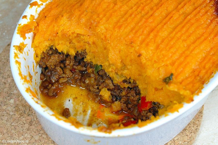 ovenschotel gehakt aardappel