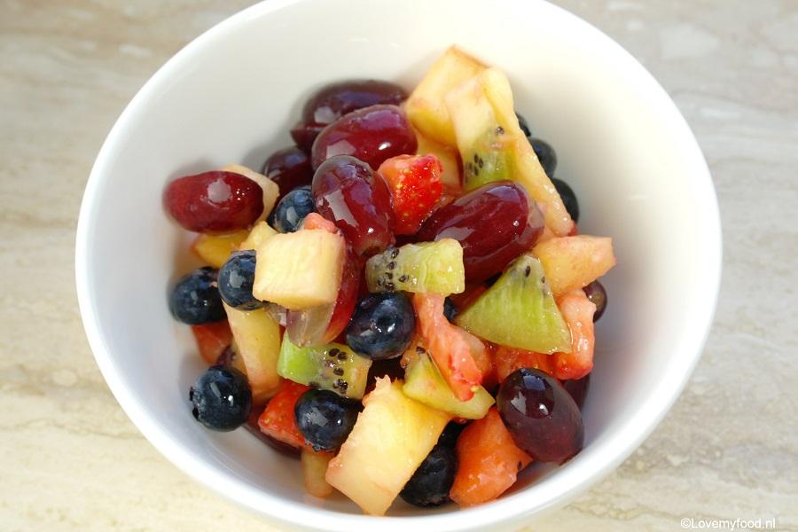 gesneden fruit bewaren